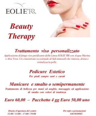Pacchetto Beauty Therapy