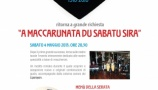 &quot;A MACCARUNATA DU SABATU SIRA&quot;