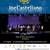 Joe Castellano, super blues & soul band all'hotel Tritone